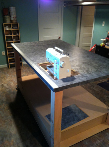 craft table inset