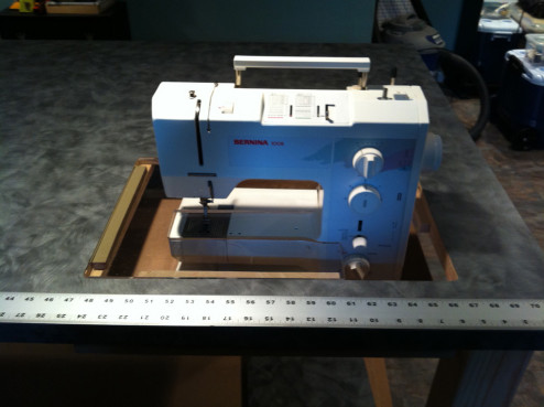 craft table sewing machine